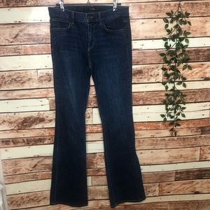 Joes Fit and Flare Dark Wash Denim Jeans Size 28 W
